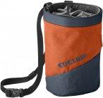 Edelrid Chalk Bag Splitter Twist Colorblock / Orange | Größe One Size |  Klett