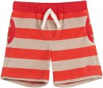 Finkid Lelu Gestreift / Rot | Größe 100 - 110 | Kinder Shorts