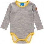 Finkid MUN Wool Kinder | Grau | 90 / 100 | +60 / 70,70 / 80,80 / 90,90 / 100