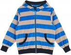 Finkid Nikki Gestreift / Blau | Größe 120 - 130 | Kinder Isolationsjacke