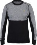 Fjällräven Bergtagen Woolmesh Sweater Colorblock, Male Merino Oberteil, L