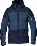 Fjällräven Keb Jacket Blau, Male G-1000® Softshelljacke, XL