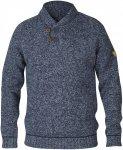 Fjällräven M Lada Sweater Blau | Größe XXL | Herren Freizeitpullover
