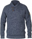 Fjällräven M Lada Sweater Blau | Herren Freizeitpullover