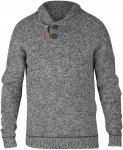 Fjällräven M Lada Sweater Grau | Größe XXL | Herren Freizeitpullover