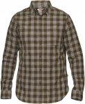 Fjällräven övik Check Shirt Long-Sleeve Kariert, Male Langarm-Hemd, XL