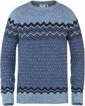Fjällräven övik Knit Sweater Blau, Male Daunen Freizeitpullover, XXL