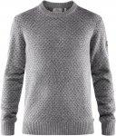 Fjällräven M övik Nordic Sweater Grau | Herren Freizeitpullover
