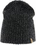 Fjällräven övik Melange Beanie Schwarz | Größe One Size |  Kopfbedeckung
