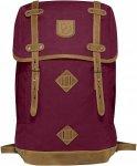 Fjällräven Rucksack No.21 Large Lila/Violett, G-1000® Büro-& Schulrucksack,