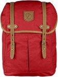 Fjällräven Rucksack No.21 Medium Rot, G-1000® Büro-& Schulrucksack, 20l