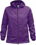 Fjällräven Abisko Windbreaker Jacket Lila/Violett, Female Freizeitjacke, L