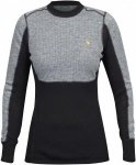 Fjällräven Bergtagen Woolmesh Sweater Colorblock, Female Merino Oberteil, XS