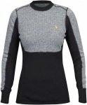 Fjällräven Bergtagen Woolmesh Sweater Colorblock, Female Merino XXS -Farbe Gre