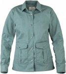 Fjällräven Greenland Shirt Jacket Blau, Female G-1000® Freizeitjacke, M