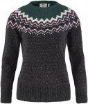 Fjällräven W övik Knit Sweater Grau | Größe XL | Damen Freizeitpullover