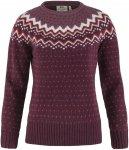 Fjällräven W övik Knit Sweater Rot | Damen Freizeitpullover