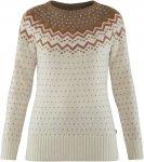 Fjällräven W övik Knit Sweater Weiß | Größe XL | Damen Freizeitpullover