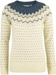 Fjällräven W övik Knit Sweater Weiß | Größe XS | Damen Freizeitpullover