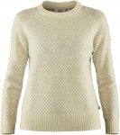 Fjällräven W övik Nordic Sweater Weiß | Größe XL | Damen Freizeitpullover