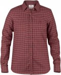 Fjällräven W Sörmland Flannel Shirt Long-Sleeve Kariert / Rot | Größe XXL |