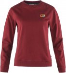 Fjällräven W Vardag Sweater Rot | Größe XS | Damen T-Shirt