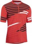 Gonso M Agno Gestreift / Rot | Größe L | Herren T-Shirt