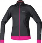 Gore Bike Wear E Lady Windstopper® Softshell Jacket Schwarz, 40, Damen Softshel