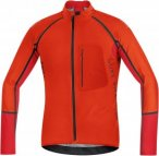 Gore Bike Wear Alp-X Pro Windstopper® Softshell Zip-Off Jersey Orange, Male Sof