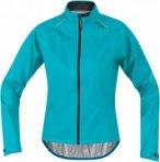 Gore Bike Wear Womens Power Lady Gore-Tex Active Shell Jacket Blau, 34, Damen Ja