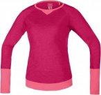 Gore Bike Wear Power Trail Jersey Long Pink, Female Langarm-Shirt, 36