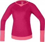 Gore Bike Wear Power Trail Jersey Long Pink, Female Langarm-Shirt, 40