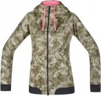Gore Bike Wear Power Trail Print Gore Windstopper Softshell Hoody Oliv, Female 3