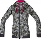 Gore W C5 Gore Windstopper Trail Camo Hooded Jacket Grau | Größe 42 | Damen So