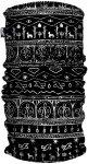 H.A.D. Originals Printed Fleece Tube | Größe One Size |  Kopfbedeckung