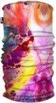 H.A.D. Originals Printed Fleece Tube Pink / Weiß | Größe One Size |  Kopfbede