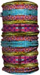 H.A.D. Printed Fleece Tube Kids Gestreift / Bunt | Größe One Size |  Kopfbedec