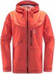 Haglöfs M L.I.M. Crown Jacket Orange / Rot | Herren Regenjacke