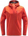 Haglöfs M L.I.M Jacket Orange / Rot | Herren Regenjacke