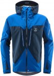 Haglöfs M Spitz Jacket Blau | Größe XL | Herren Windbreaker