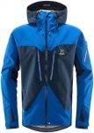 Haglöfs M Spitz Jacket Blau | Herren Windbreaker