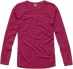 Haglöfs Actives Wool Roundneck Pink, Female Merino Langarm-Shirt, L