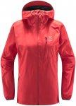 Haglöfs W L.I.M Jacket Rot | Damen Regenjacke