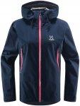 Haglöfs W Roc Gtx® Jacket Blau | Damen Regenjacke