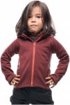 Houdini Kids Power Houdi Rot, Polartec® Fleecejacke, 80