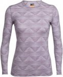 Icebreaker W Oasis Long-Sleeve Crewe Diamond Line | Damen Oberteil