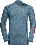 Jack Woflskin M Snow SKY Longsleeve Blau | Herren T-Shirt