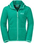 Jack Wolfskin Girls Kirkwood Grün, Female Fleecejacke, 164