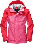 Jack Wolfskin Girls Topaz Texapore Jacket Pink | Größe 92 | Kinder Freizeitjac