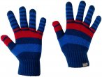 Jack Wolfskin Kids Cross Knit Gloves Blau | Größe One Size | Kinder Fingerhand